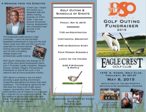 2015-Golf Outing Key Details